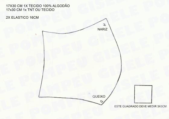 MOLDE MASCARA BICO DE PATO
